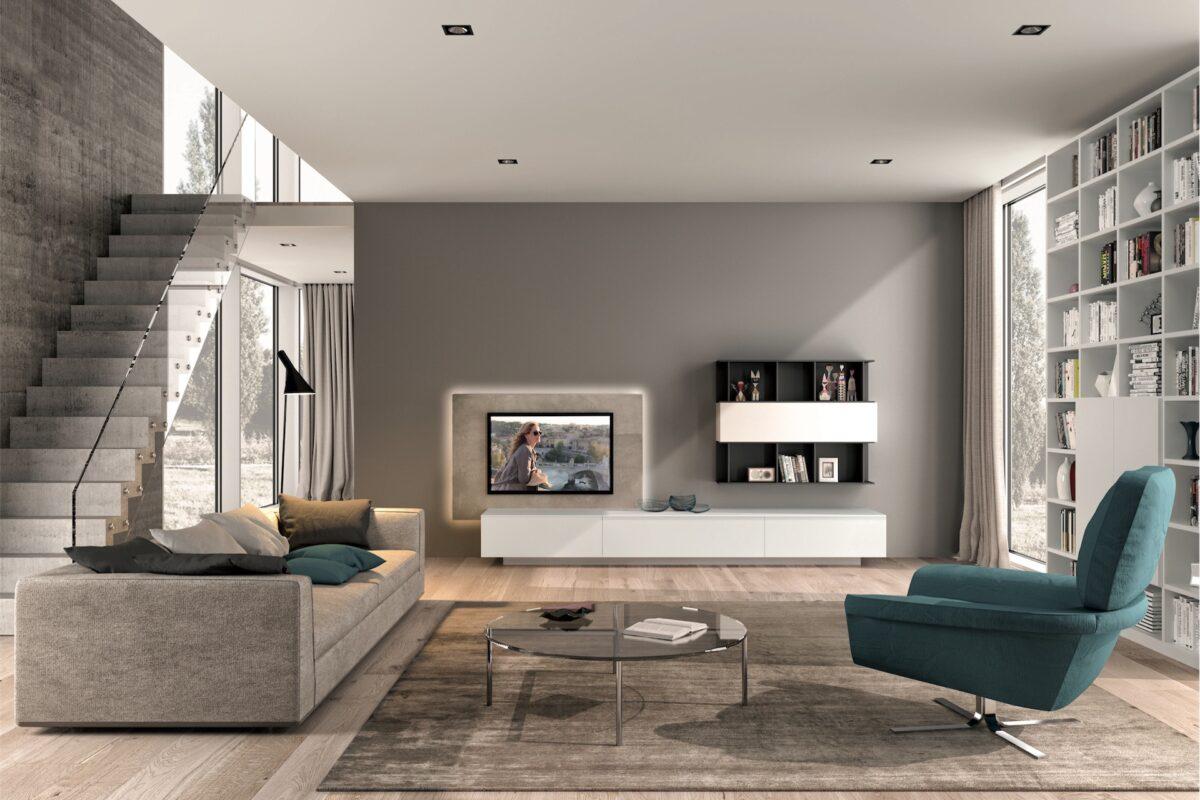 soggiorno-classico-avorio-grigio-e-verde-petrolio