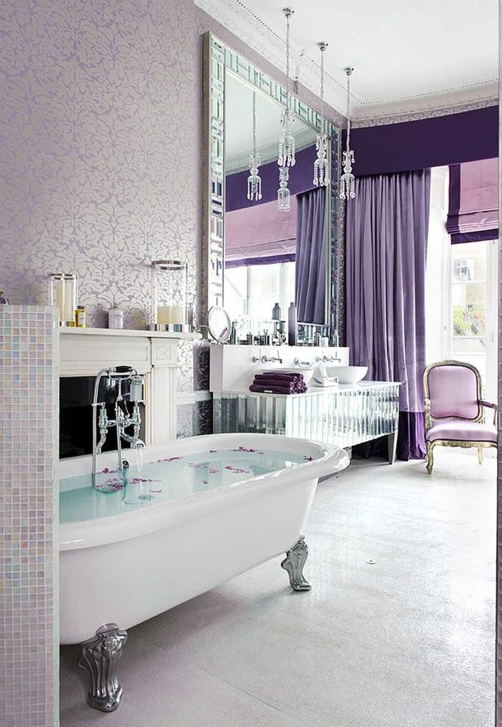 bagno-classico-carta-da-parati-lavanda