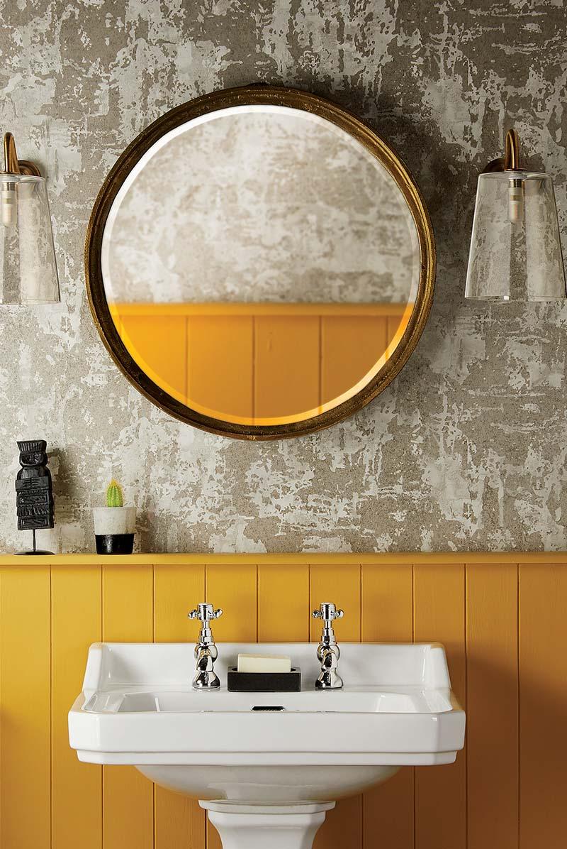 bagno-pareti-giallo-senape 14