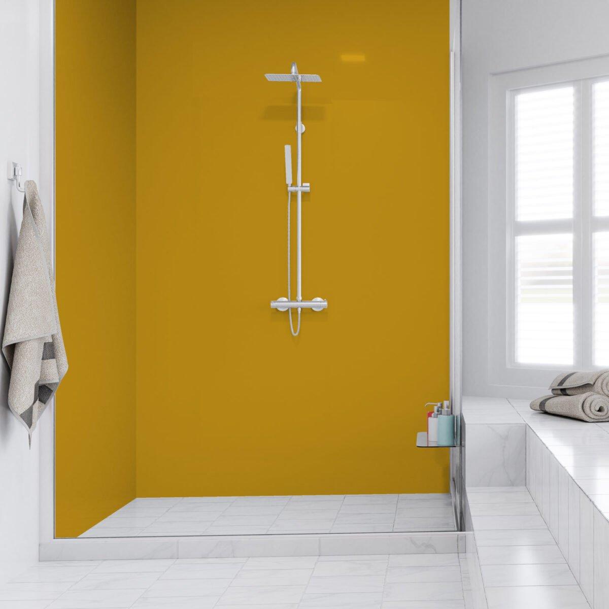 bagno-pareti-giallo-senape 16