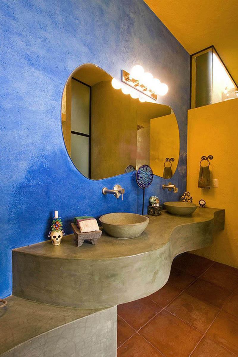 bagno-pareti-giallo-senape 18