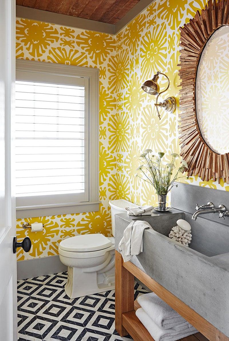 bagno-pareti-giallo-senape 19