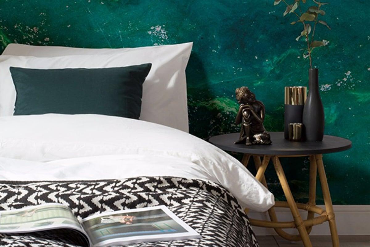 carta-da-parati-verde-smeraldo-camera-da-letto