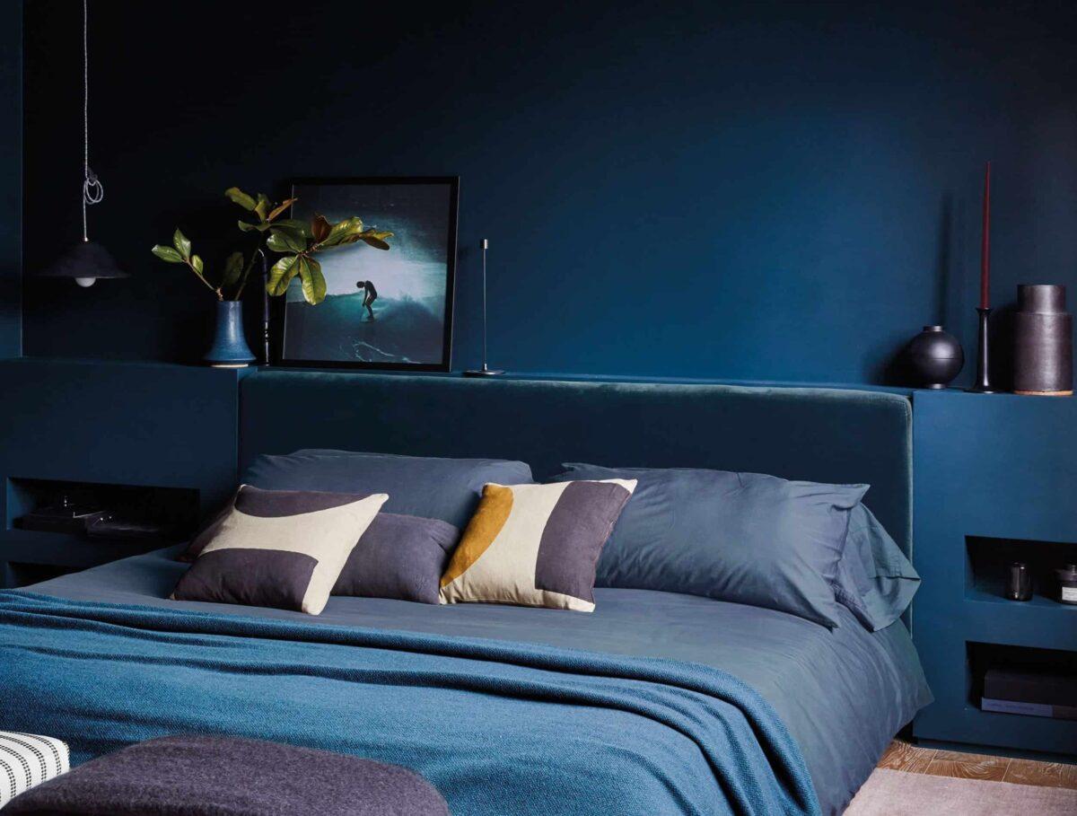 Colori eleganti per la camera da letto