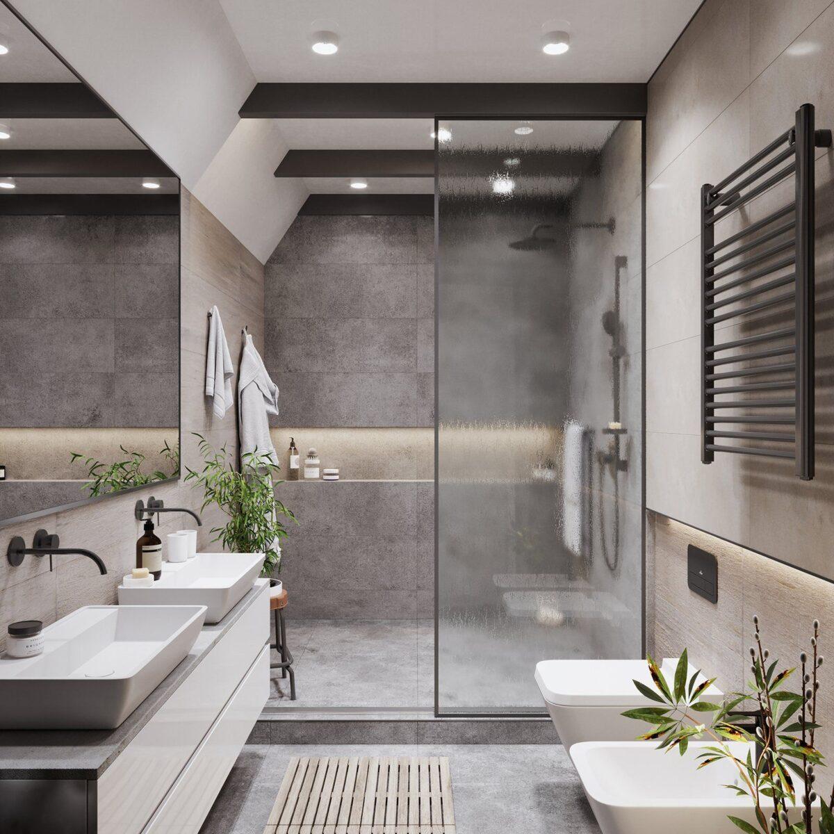 Come posizionare i sanitari in un bagno piccolo