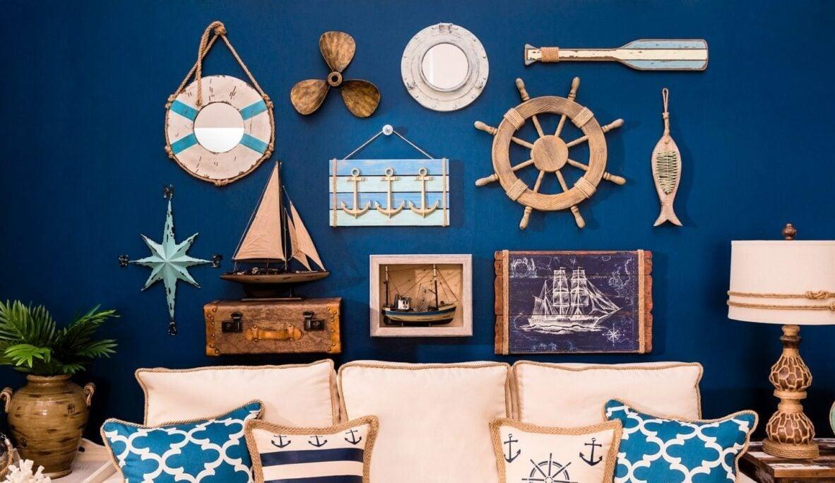 Cornici in stile marino: abbellire casa in maniera allegra