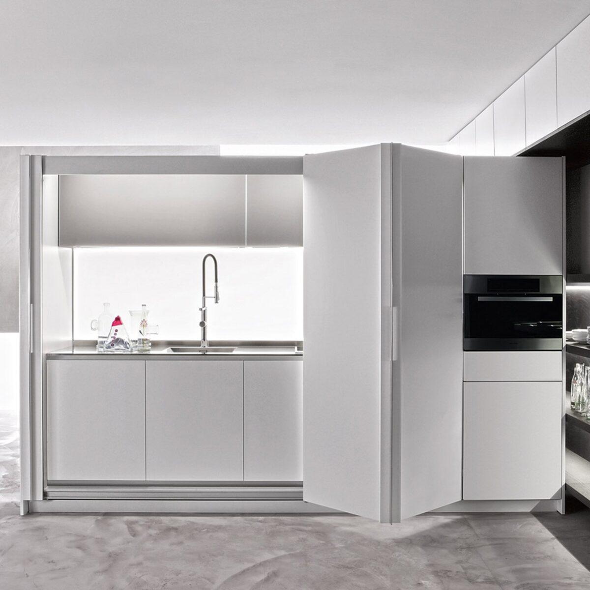 Cucina moderna piccola: idee