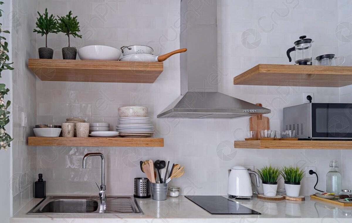 Cucina scandinava: come disporre mobili