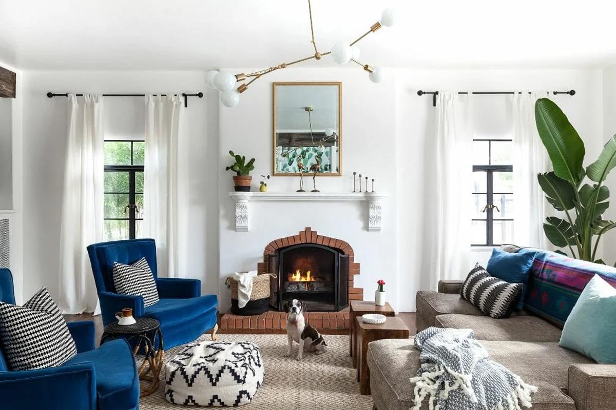 Idee di divano per stile bohémien: materiali, colori e abbinamenti