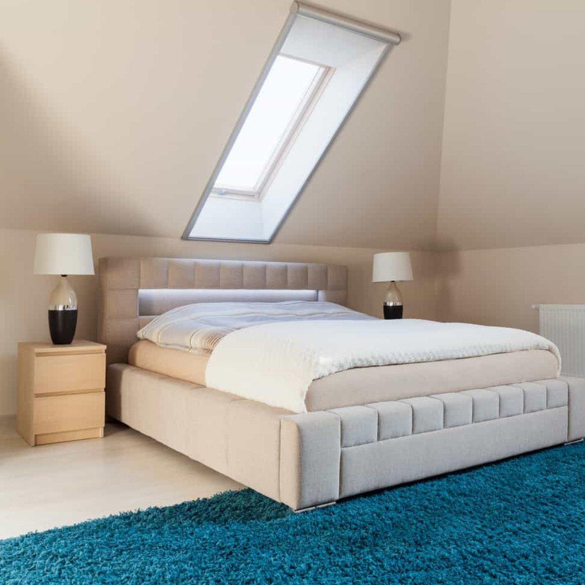 Dove mettere il letto in mansarda