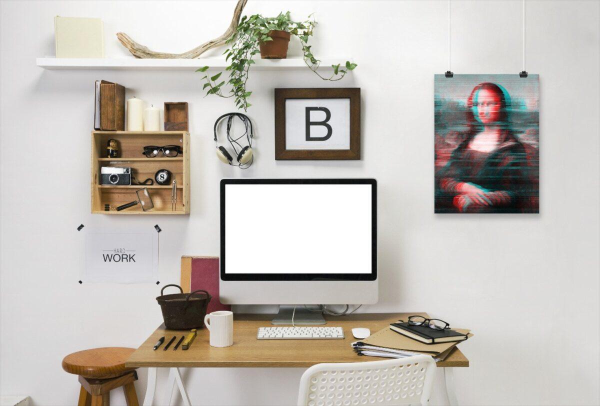 Stile glitch in casa: arredare con i pixel