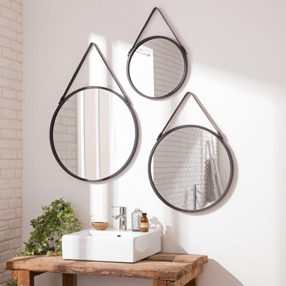 bagno-piccolo-moderno-specchi-rotondi