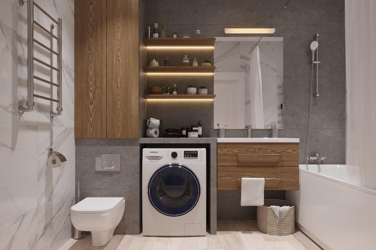 Bagno moderno piccolo: 6 idee per combinare estetica e funzionalità