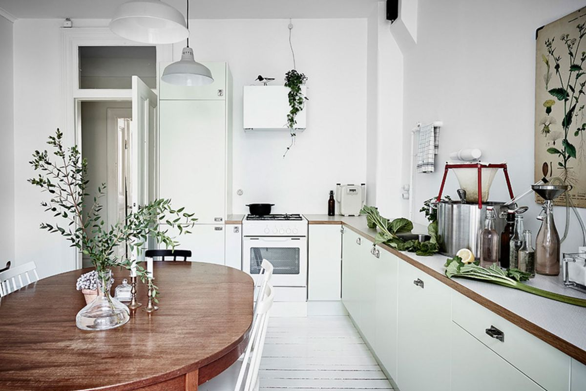 Cucina scandinava rettangolare: 5 classici intramontabili
