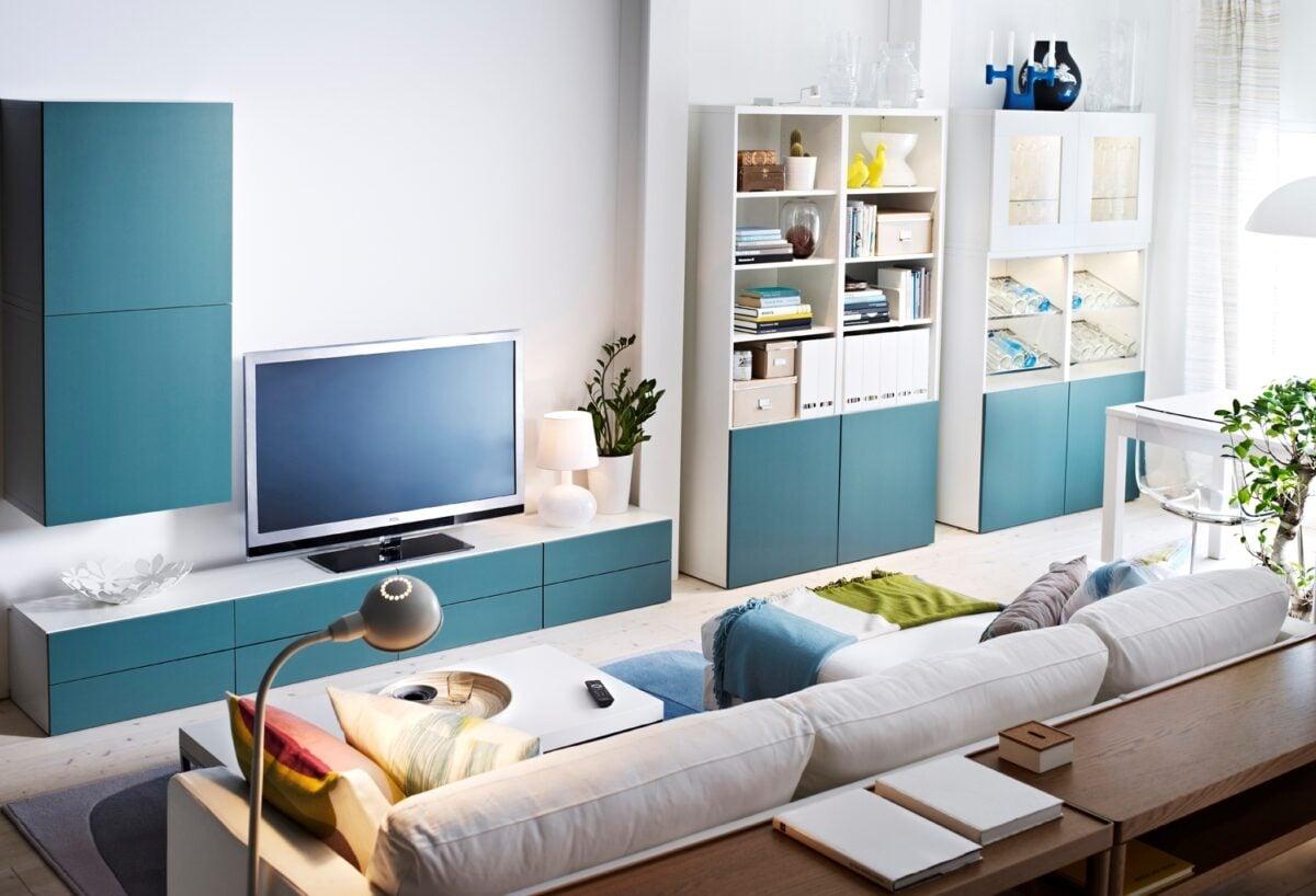 Ikea mobili soggiorno: idee