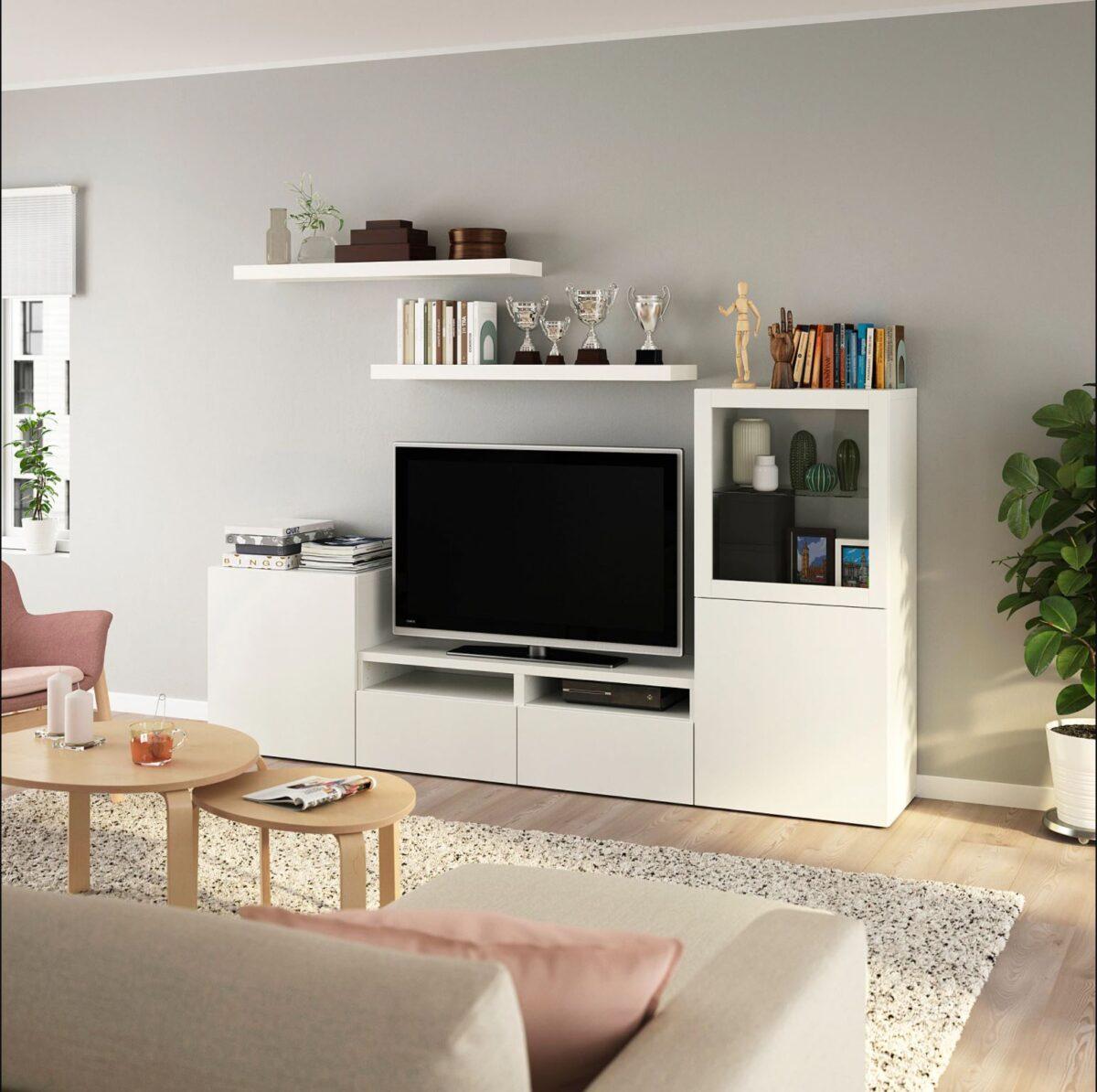Soggiorno IKEA a meno di 750 euro: idee e soluzioni