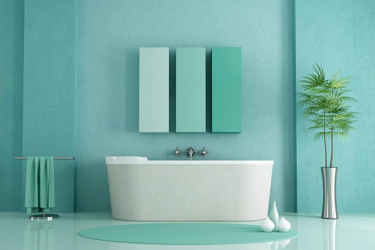 5 colori per il bagno a cui non avevi mai pensato