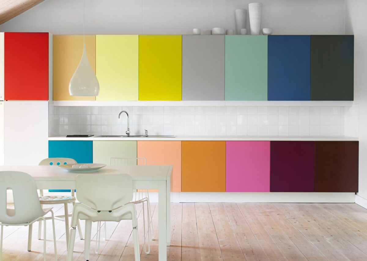 5 colori per la cucina a cui non avevi pensato