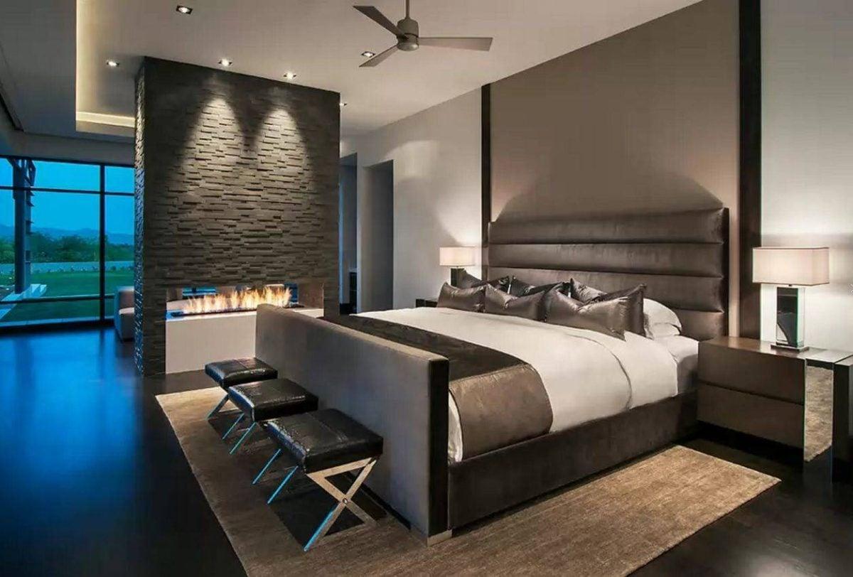 Camera da letto moderna: come scegliere l'illuminazione
