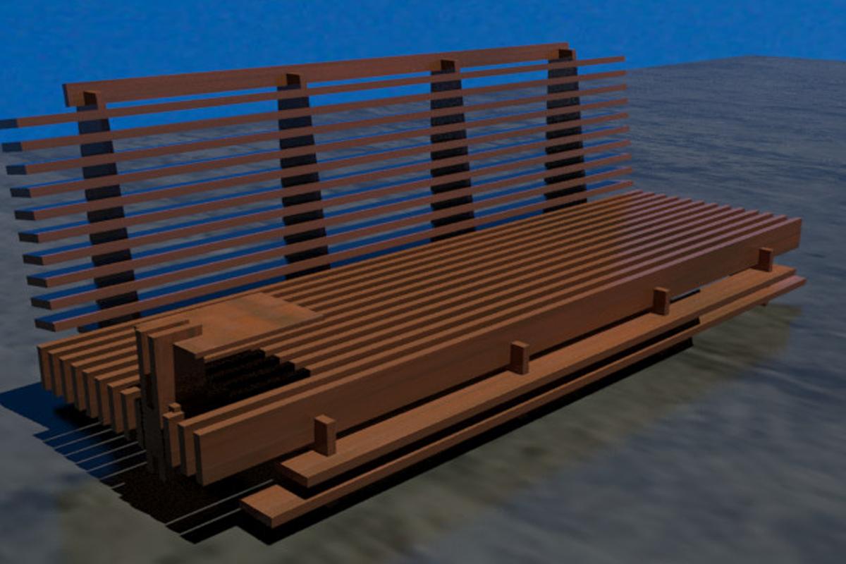 JIGOKU GUMI sofà: il relax che nasce dal legno