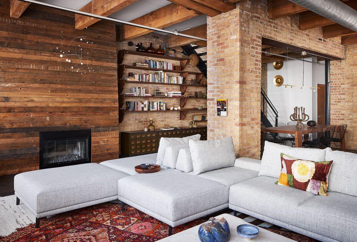Stile-industrial-chic-arredare-il-soggiorno-6