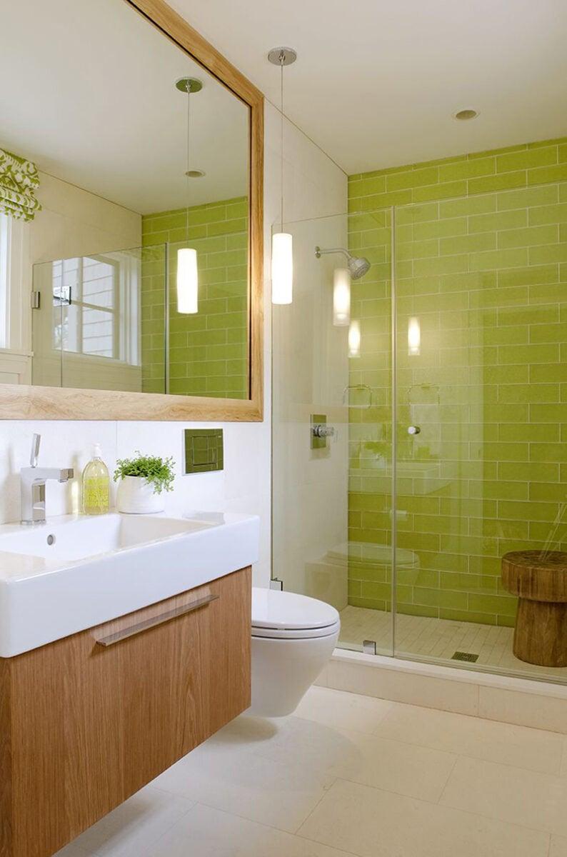 bagno-pareti-color-verde-lime 13