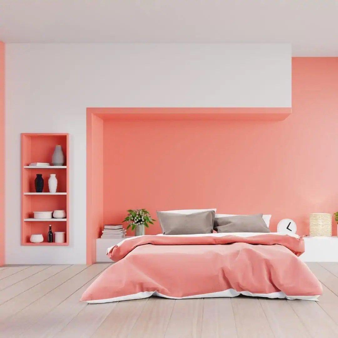 camera-da-letto-pareti-color-corallo-11