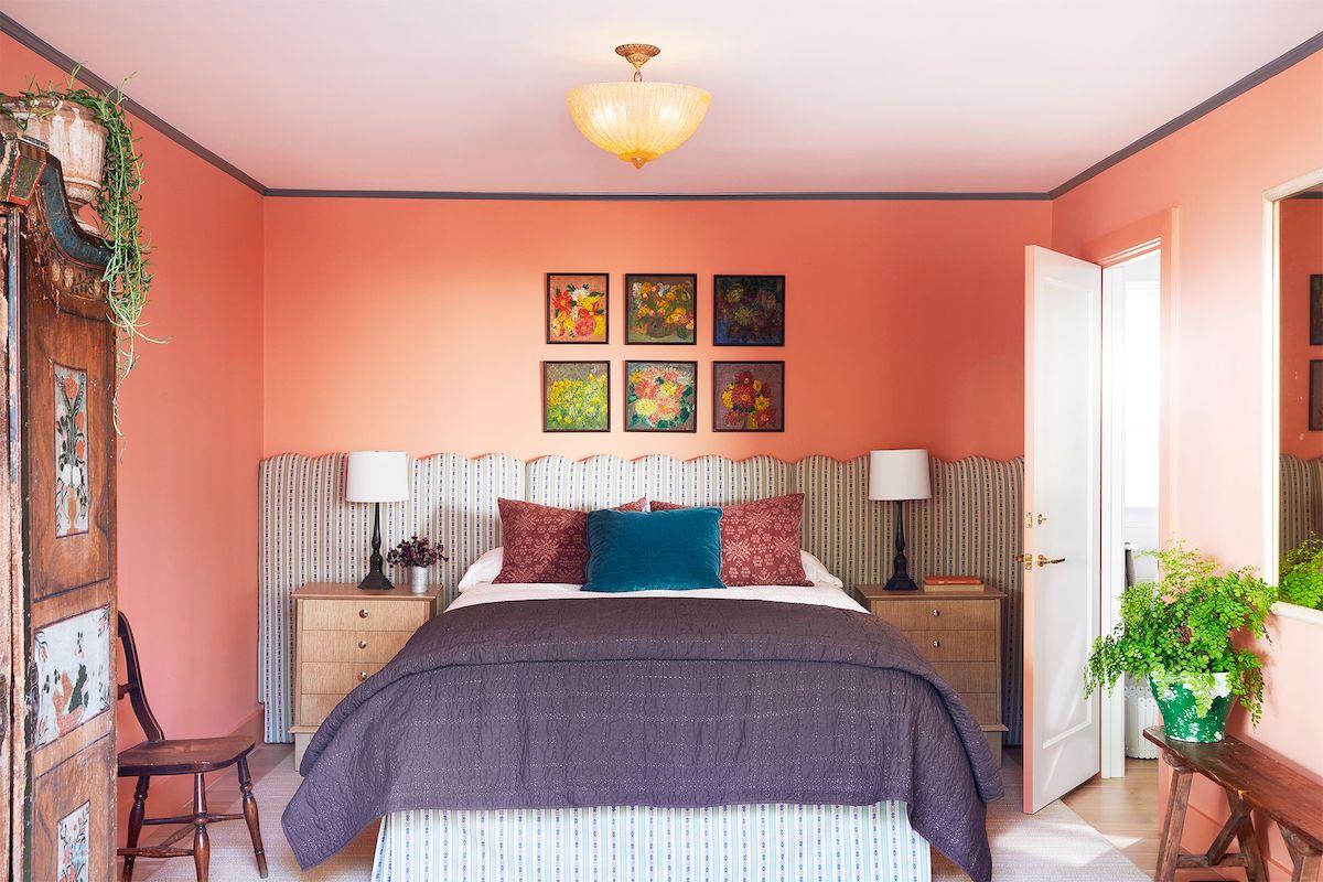 camera-da-letto-pareti-color-corallo-12