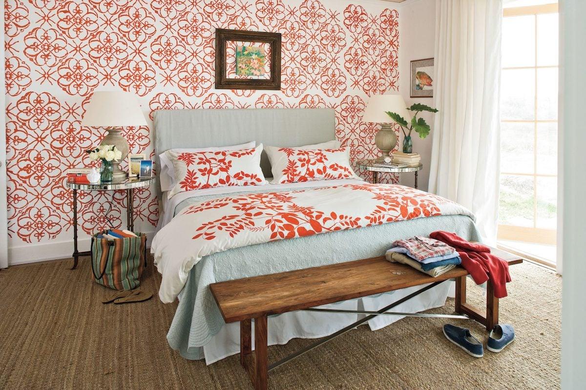 camera-da-letto-pareti-color-corallo-13