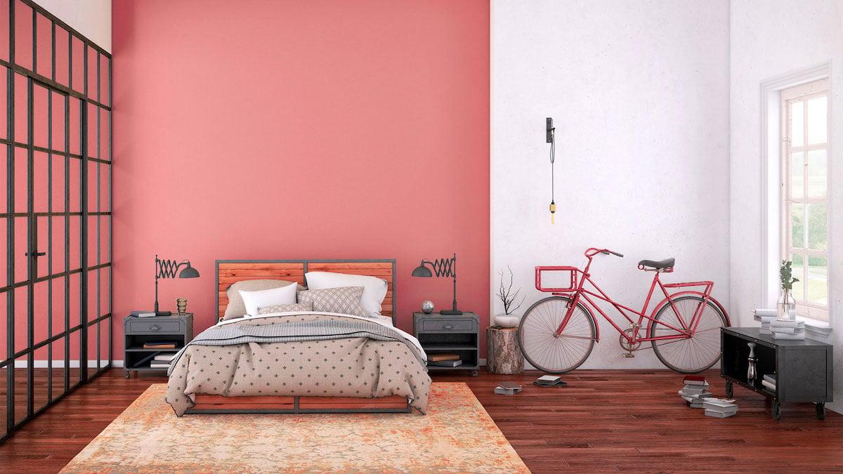 camera-da-letto-pareti-color-corallo-4