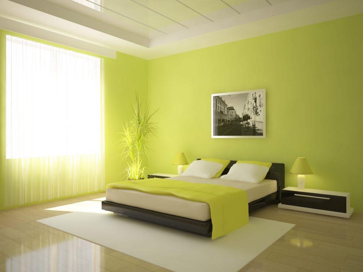 camera-da-letto-pareti-verde-lime-4