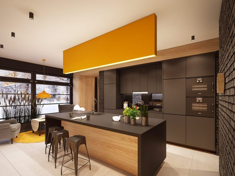 cucina-pareti-color-marrone-24