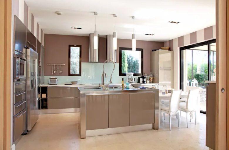 cucina-pareti-color-marrone-9