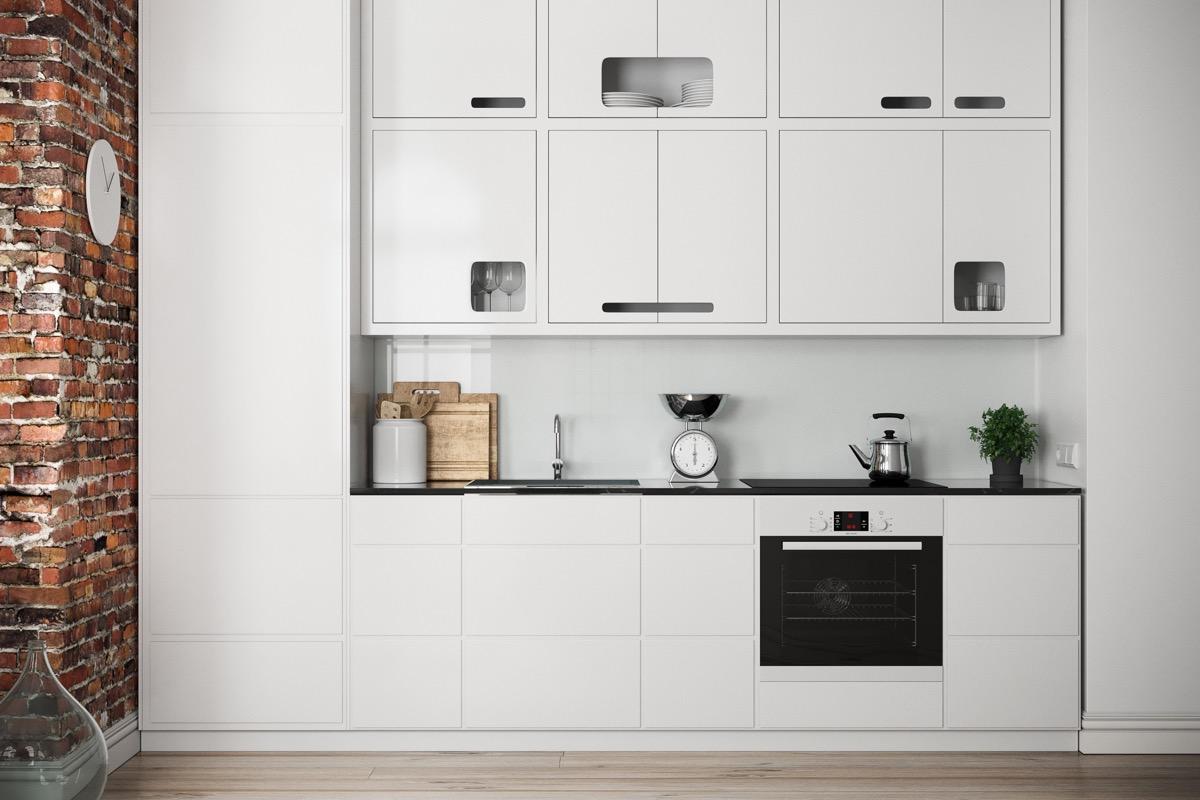 Cucina piccola lineare: come arredare