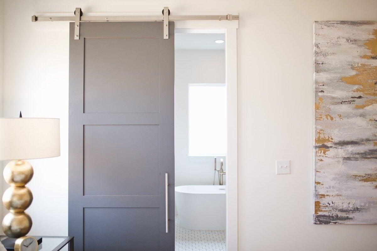Door, Bathroom