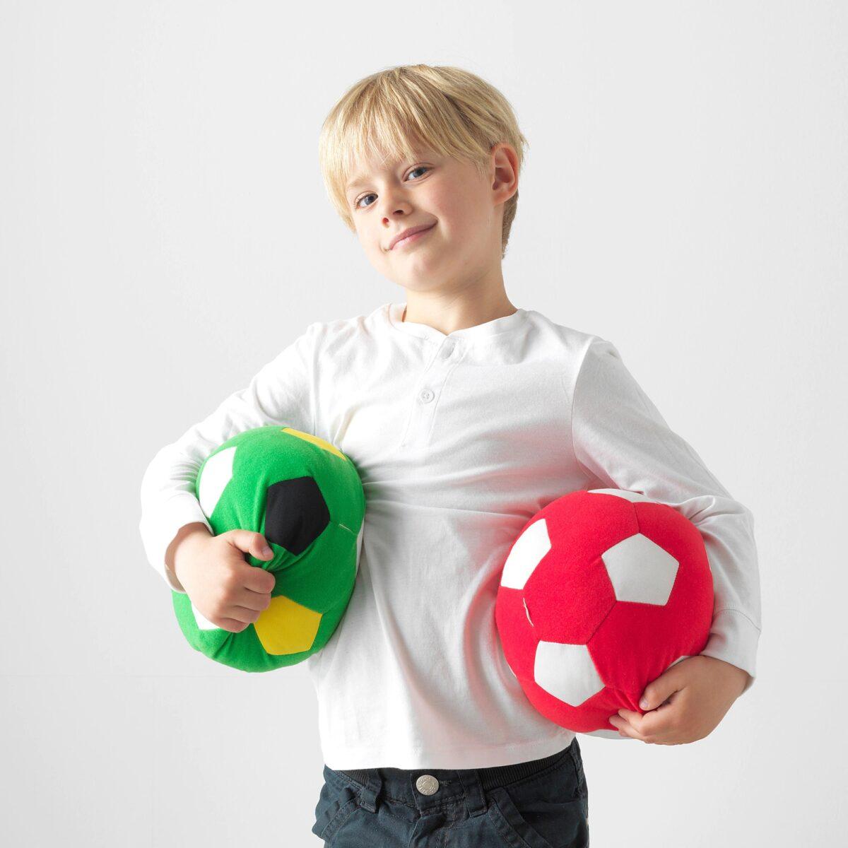 ikea-sparka-giocattolo-morbido-pallone-verde
