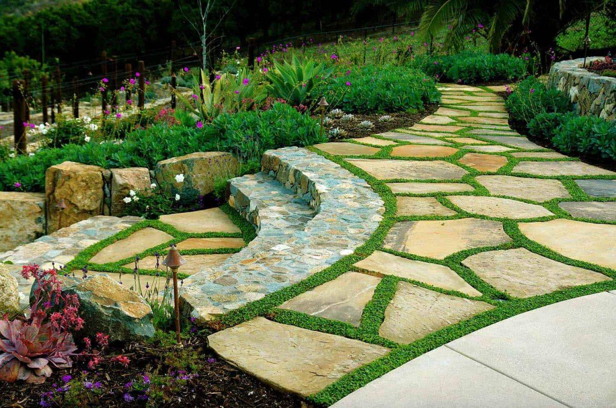 Pavimentazione giardino: idee, stili, esempi