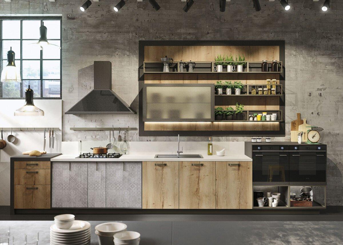 stile-industrial-chic-arredare-cucina-3
