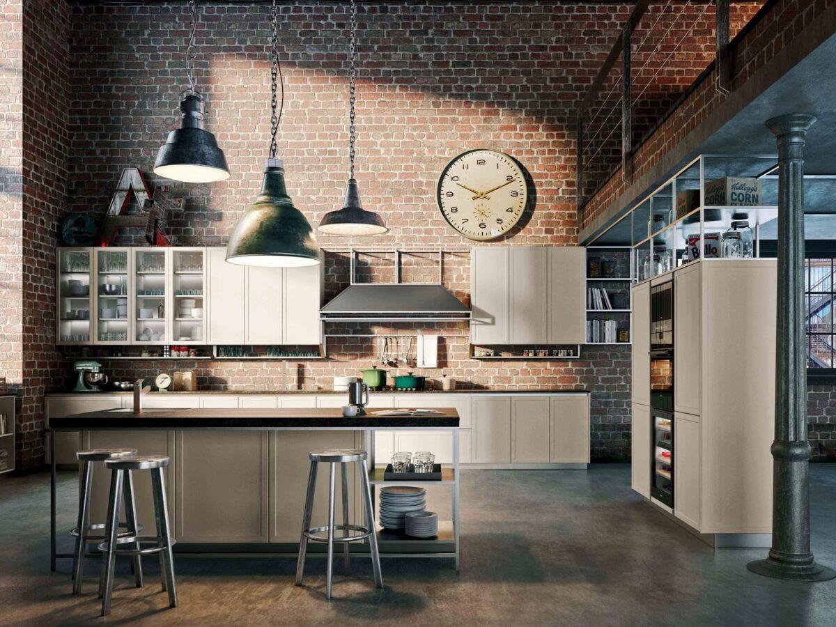 Stile industrial chic: arredare la cucina