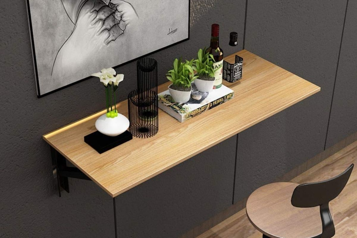 Tavolo a muro per cucina: 5 proposte salvaspazio