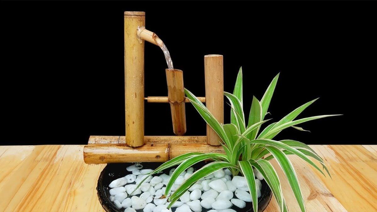 abbellire-balcone-stile-giapponese-fontana