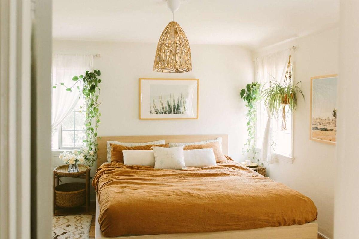 Come arredare la camera da letto in stile Boho Chic