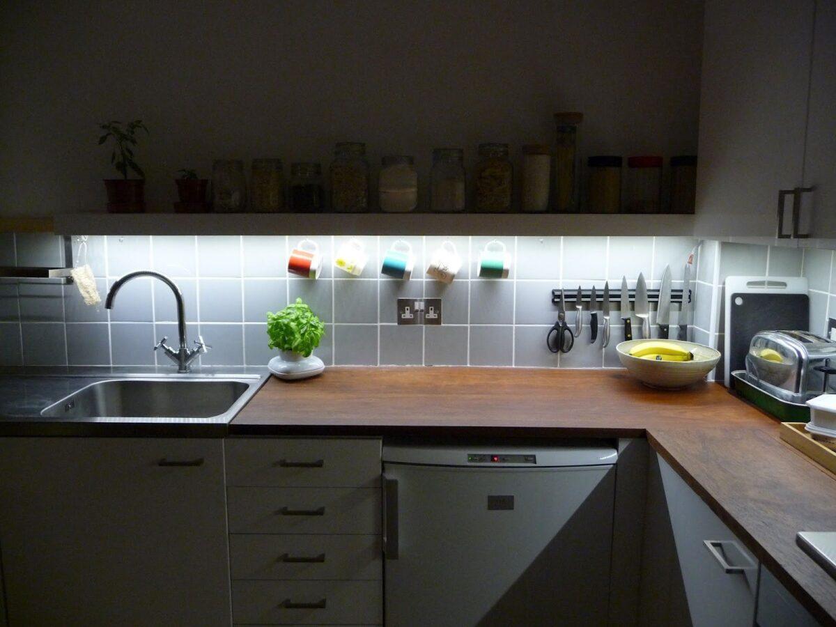 Illuminazione sottopensile cucina: guida alla scelta