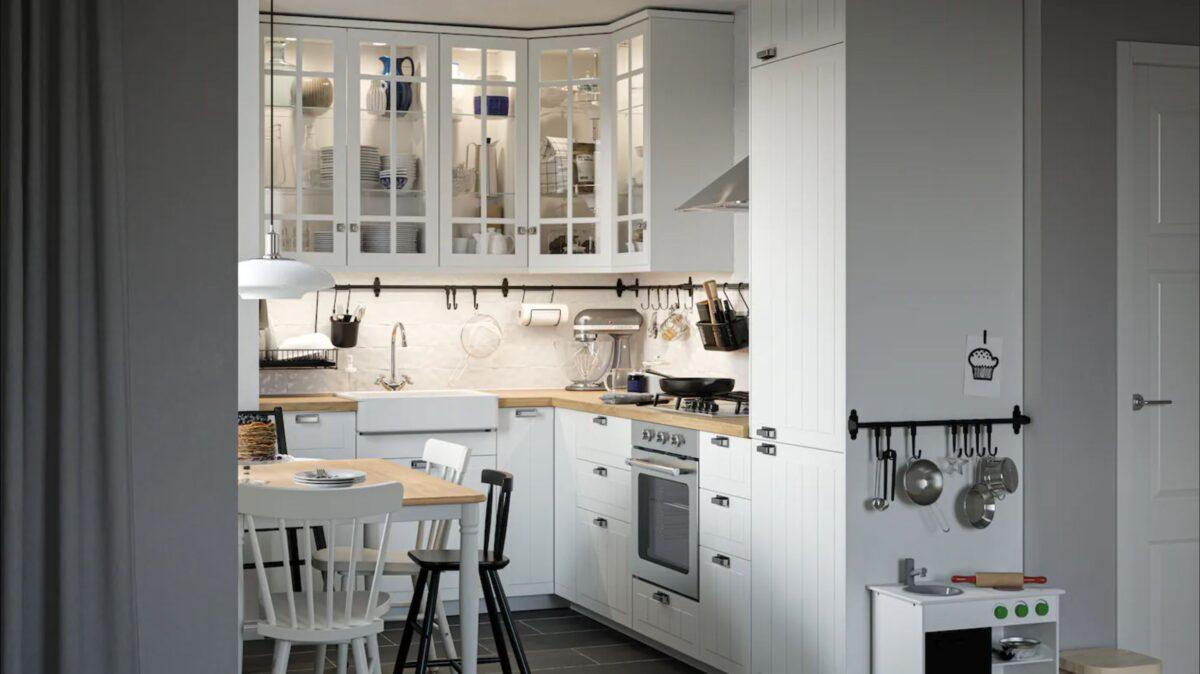 Cucina in stile provenzale con IKEA