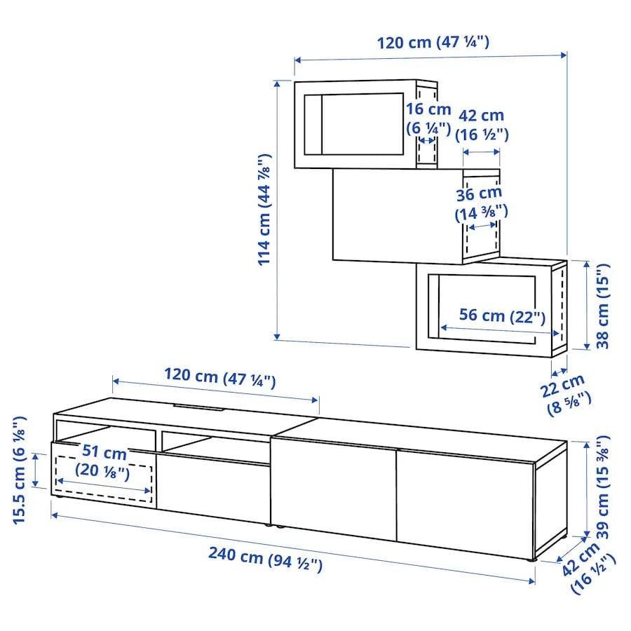 ikea-besta-combinazione-tv-ante-a-vetro-bianco-lappviken-vetro-trasparente-bianco-misure