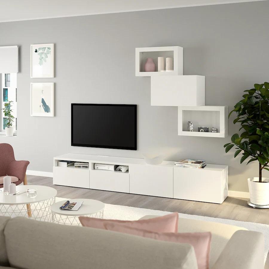 ikea-besta-combinazione-tv-ante-a-vetro-bianco-lappviken-vetro-trasparente-bianco