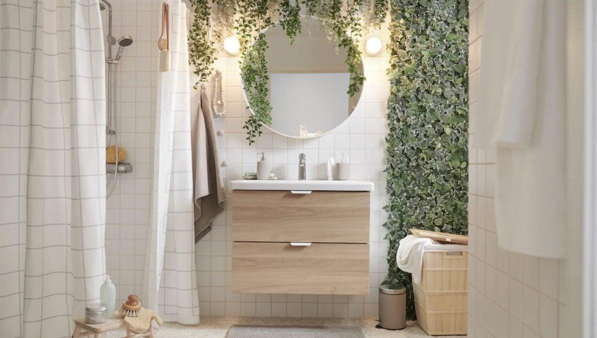 Mobili bagno salvaspazio IKEA