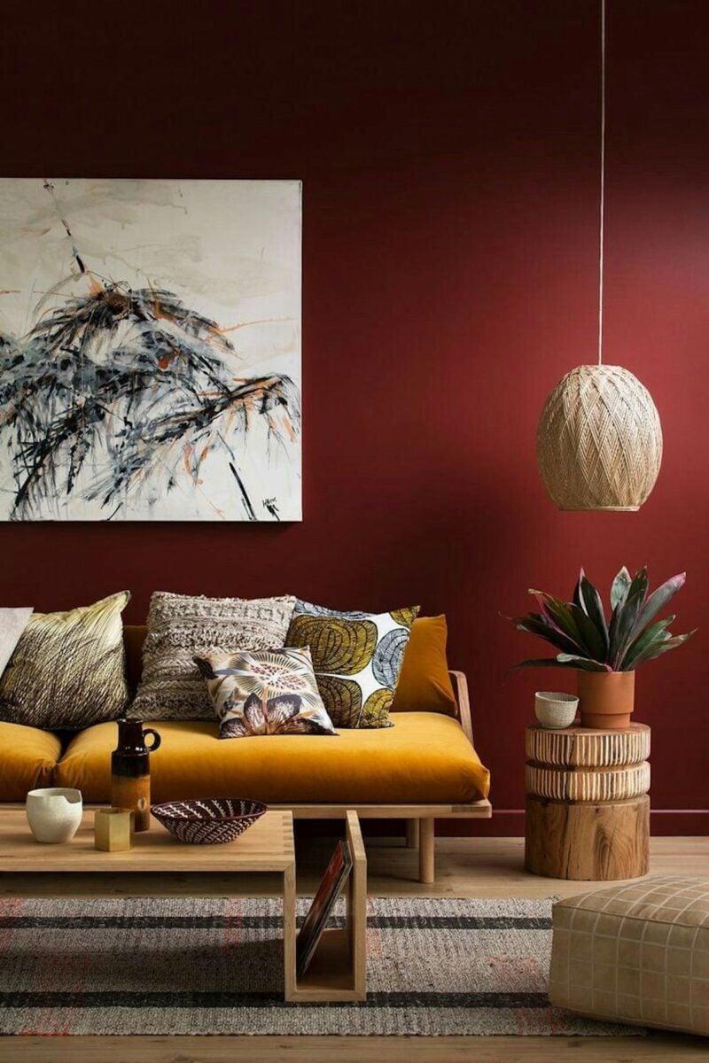 pareti-color-vinaccia-soggiorno-etnico