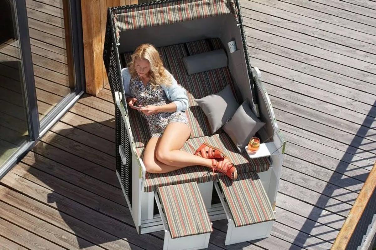 8 idee di sedia a sdraio per il tuo balcone