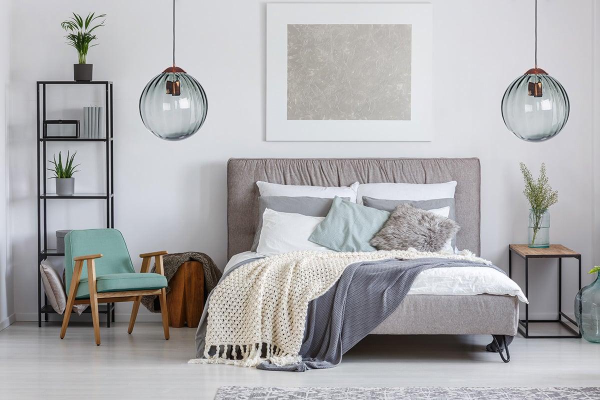 10 trucchi per rendere luminosa la camera da letto